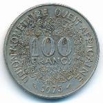 Западная Африка, 100 франков (1975 г.)