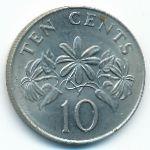 Сингапур, 10 центов (1985 г.)