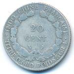 Французский Индокитай, 20 центов (1921 г.)