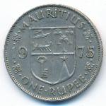 Маврикий, 1 рупия (1956–1978 г.)