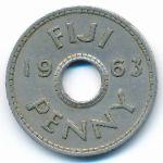 Фиджи, 1 пенни (1963 г.)