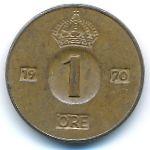 Швеция, 1 эре (1970 г.)