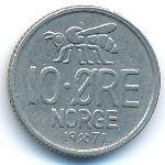 Норвегия, 10 эре (1971 г.)