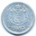 Монако, 2 франка (1943 г.)