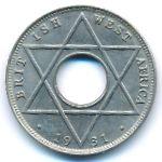 Британская Западная Африка, 1/10 пенни (1914–1936 г.)