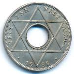 Британская Западная Африка, 1/10 пенни (1936 г.)
