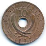 Восточная Африка, 10 центов (1935 г.)
