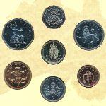Великобритания, Набор монет (1988 г.)