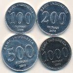 Индонезия, Набор монет (2016 г.)