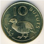 The Gambia, 10 bututs, 1998