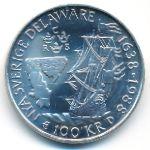 Швеция, 100 крон (1988 г.)
