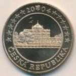 Чехия, 5 евро (2004 г.)