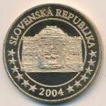 Словакия, 5 евро (2004 г.)