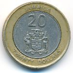 Ямайка, 20 долларов (2000–2006 г.)