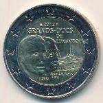 Люксембург, 2 евро (2012 г.)
