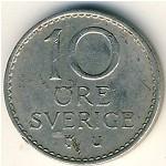 Швеция, 10 эре (1962–1973 г.)