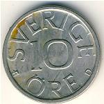 Швеция, 10 эре (1977–1991 г.)