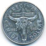 Канада, 1 доллар (1982 г.)