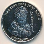 Тристан-да-Кунья, 1 крона (2005 г.)
