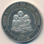 Острова Кука, 1 доллар (1995 г.)
