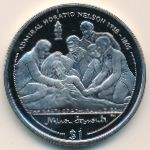 Виргинские острова, 1 доллар (2005 г.)