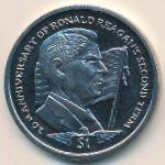 Сьерра-Леоне, 1 доллар (2004 г.)
