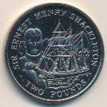 Южная Джорджия и Южные Сэндвичевы острова, 2 фунта (2001 г.)