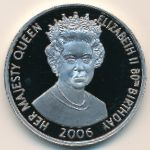 Ascension Island, 50 pence, 2006