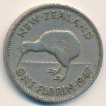 Новая Зеландия, 1 флорин (1947 г.)