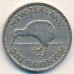 Новая Зеландия, 1 флорин (1962–1965 г.)
