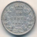 Канада, 10 центов (1901 г.)