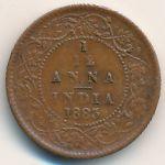 Британская Индия, 1/12 анны (1883 г.)