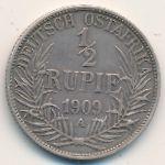 Немецкая Африка, 1/2 рупии (1909 г.)