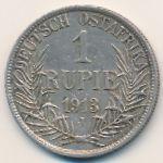 Немецкая Африка, 1 рупия (1913 г.)