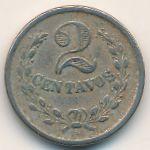 Колумбия, 2 сентаво (1921 г.)