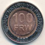 Руанда, 100 франков (2007 г.)
