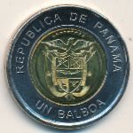 Панама, 1 бальбоа (2011 г.)