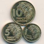 Гвинея, Набор монет (1985 г.)