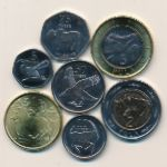Ботсвана, Набор монет