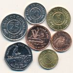 Гайана, Набор монет
