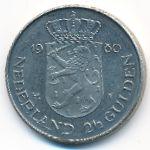 Нидерланды, 2 1/2 гульдена (1980 г.)