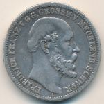 Мекленбург-Шверин, 2 марки (1876 г.)