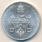 Ватикан, 1000 лир (1978 г.)