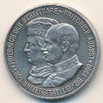 Саксония, 2 марки (1909 г.)