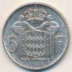 Монако, 5 франков (1960–1966 г.)