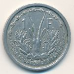 Французская Экваториальная Африка, 1 франк (1948 г.)