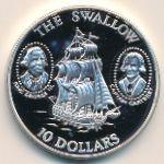 Соломоновы острова, 10 долларов (1994 г.)