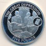 Гибралтар, 5 фунтов (2009 г.)