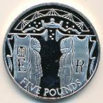Олдерни, 5 фунтов (2002 г.)