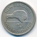 Новая Зеландия, 1 флорин (1965 г.)